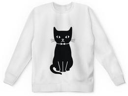 "Свитшот унисекс с полной запечаткой ""Кошка by K.Karavaev"" - cat, кот, караваев, karavaev, kkaravaev"