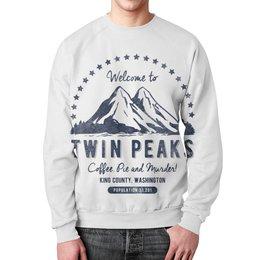 """Свитшот мужской с полной запечаткой """"Твин Пикс"""" - сериалы, twin peaks, твин пикс"""
