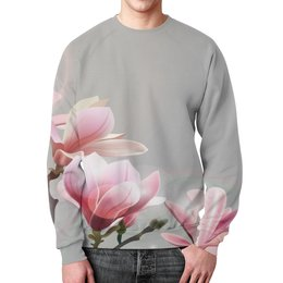 """Свитшот унисекс с полной запечаткой """"Spring"""" - цветы, весна, spring, пора года"""