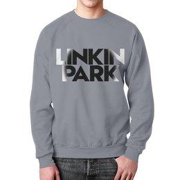 """Свитшот унисекс с полной запечаткой """"Linkin park"""" - рок группы, рок, музыка, linkin park, линкин парк"""