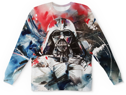 """Свитшот унисекс с полной запечаткой """"Darth Vader , дарт вейдер"""" - darth vader, дарт вейдер"""