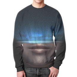 """Свитшот мужской с полной запечаткой """"Сила Вселенной"""" - space, звезды, космос, наука, thespaceway"""