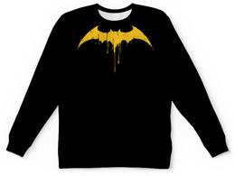 """Свитшот унисекс с полной запечаткой """"БЭТМЕН!!!"""" - batman, бэтмен, gotham, тёмный рыцарь, летучая мышь"""