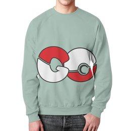 """Свитшот унисекс с полной запечаткой """"Pokemon GO"""" - pokemon, покемон, go, wax, покемон гоу"""