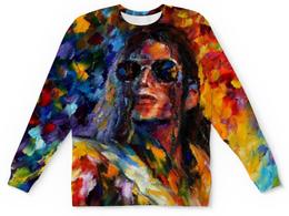 """Свитшот унисекс с полной запечаткой """"Майкл Джексон (Michael Jackson)"""" - майкл джексон"""