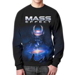 """Свитшот унисекс с полной запечаткой """"Mass Effect"""" - компьютерные игры, mass effect, n7, масс эффект, геймерские"""