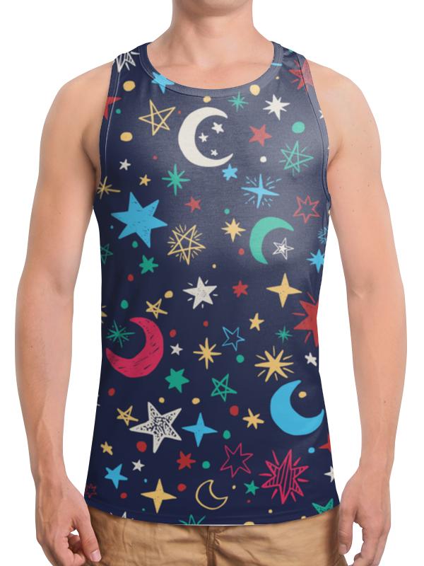 Борцовка с полной запечаткой Printio Звёздное небо свитшот унисекс с полной запечаткой printio звёздное небо