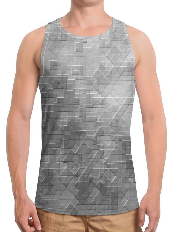 Борцовка с полной запечаткой Printio Пиксель-арт. черно-белый паттерн волченко ю с пиксель арт