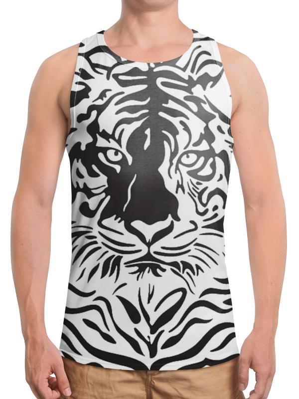Борцовка с полной запечаткой Printio Взгляд тигра хоук к в поисках тигра