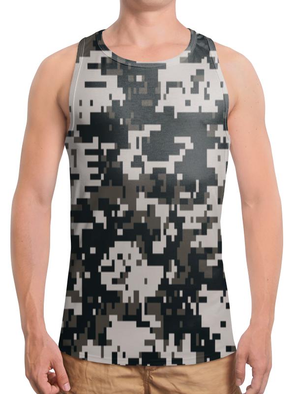 Борцовка с полной запечаткой Printio Urban camouflage майка print bar urban camouflage