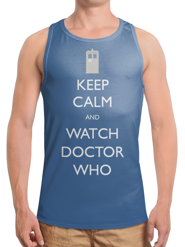 Борцовка с полной запечаткой Printio Keep calm футболка wearcraft premium printio keep calm