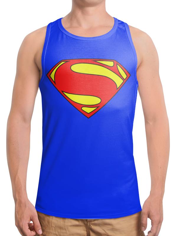 Борцовка с полной запечаткой Printio Superman