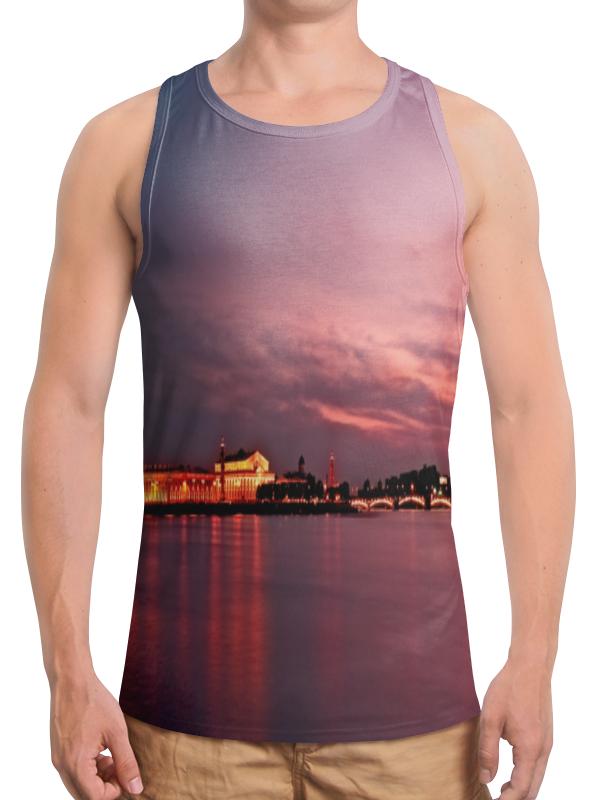 Борцовка с полной запечаткой Printio Санкт-петербург футболка с полной запечаткой мужская printio санкт петербург
