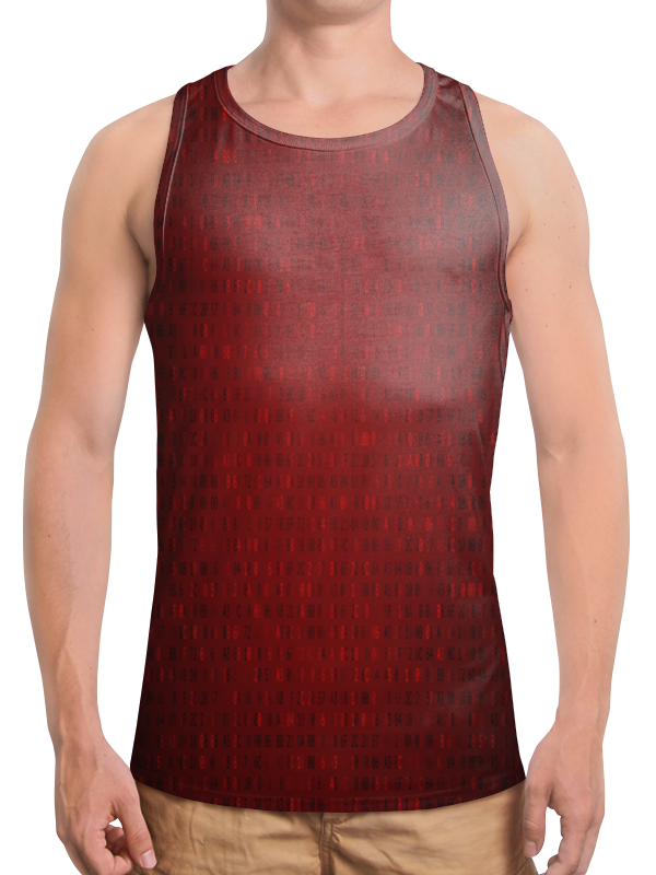 Борцовка с полной запечаткой Printio Цифры футболка wearcraft premium slim fit printio тибетская vajrabhairava