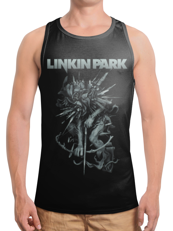 Борцовка с полной запечаткой Printio Linkin park майка борцовка print bar anatomy park
