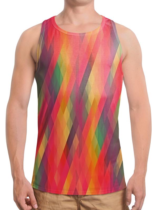 Борцовка с полной запечаткой Printio Многоцветный joyochfoto многоцветный 5 7ft