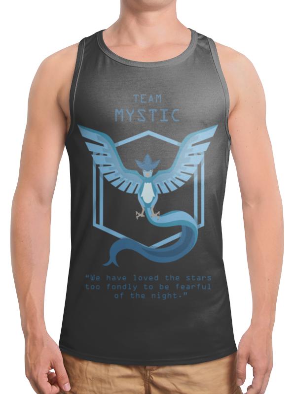 Борцовка с полной запечаткой Printio Team mystic mystic пуловер
