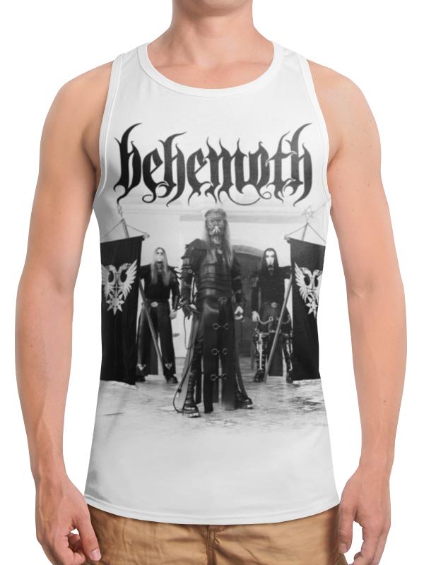 Борцовка с полной запечаткой Printio Behemoth behemoth behemoth pandemonic incantations