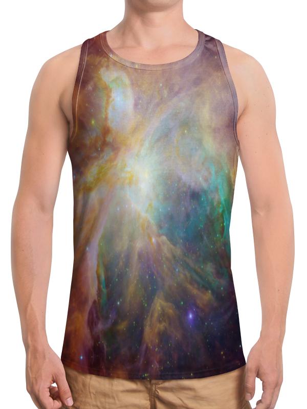 Printio Космические краски футболка с полной запечаткой для девочек printio космические краски
