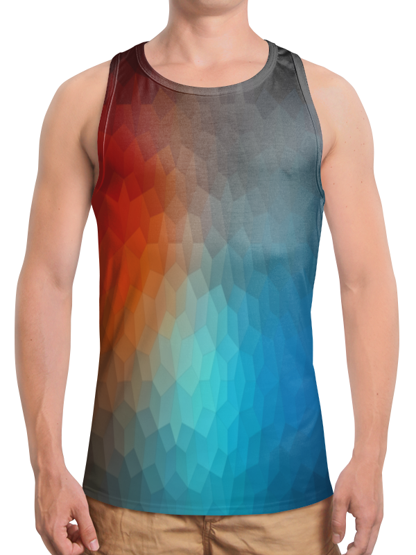 Printio Polygon color футболка с полной запечаткой для девочек printio polygon color