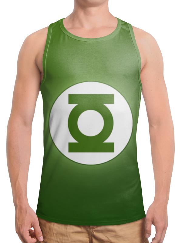 Борцовка с полной запечаткой Printio Зелёный фонарь / green lantern футболка с полной запечаткой printio green lantern the duck 2