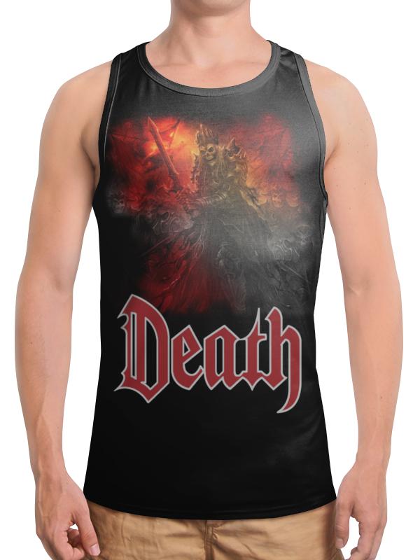 Борцовка с полной запечаткой Printio Death art футболка print bar ввп vector