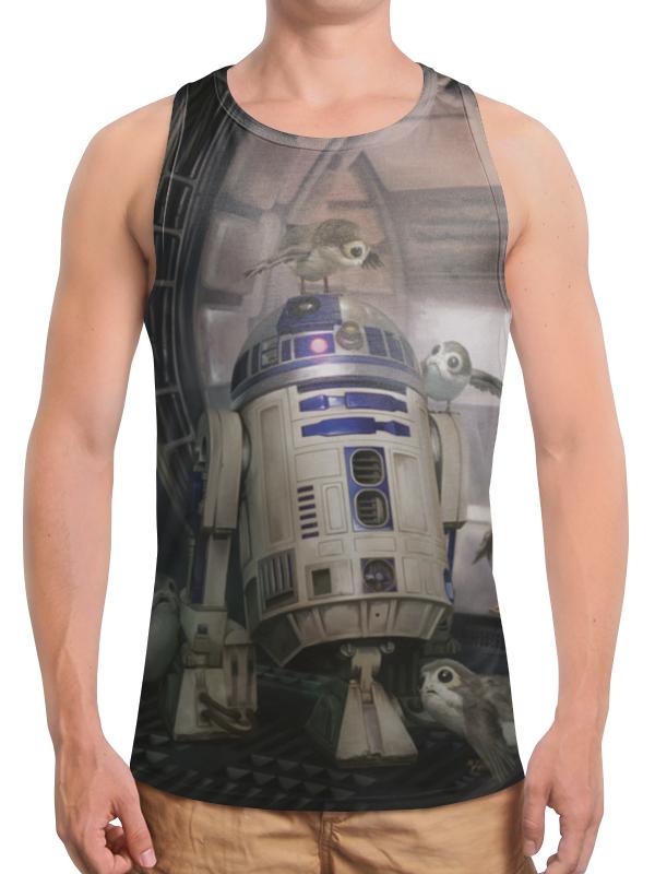 Борцовка с полной запечаткой Printio Звездные войны - r2-d2 футболка с полной запечаткой мужская printio звездные войны r2 d2
