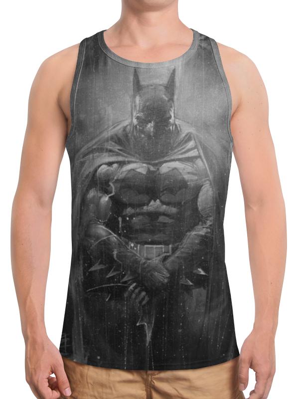 Борцовка с полной запечаткой Printio Бэтмен / batman бомбер printio batman бэтмен