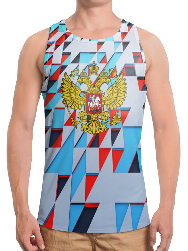 Борцовка с полной запечаткой Printio Герб россии
