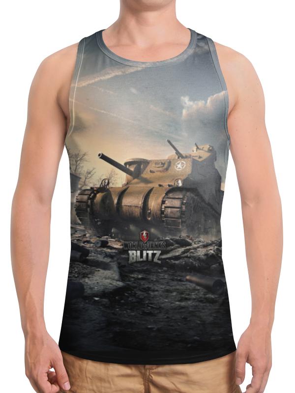 Борцовка с полной запечаткой Printio World of tanks борцовка с полной запечаткой printio world of tanks