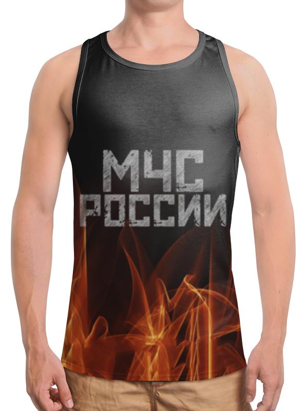 Борцовка с полной запечаткой Printio Мчс россии футболка с полной запечаткой мужская printio мчс россии