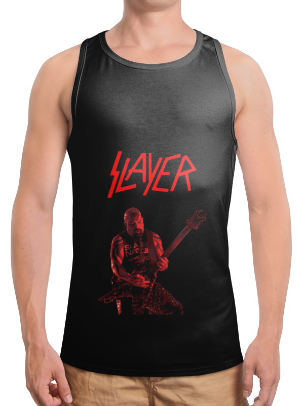 Борцовка с полной запечаткой Printio Slayer цена