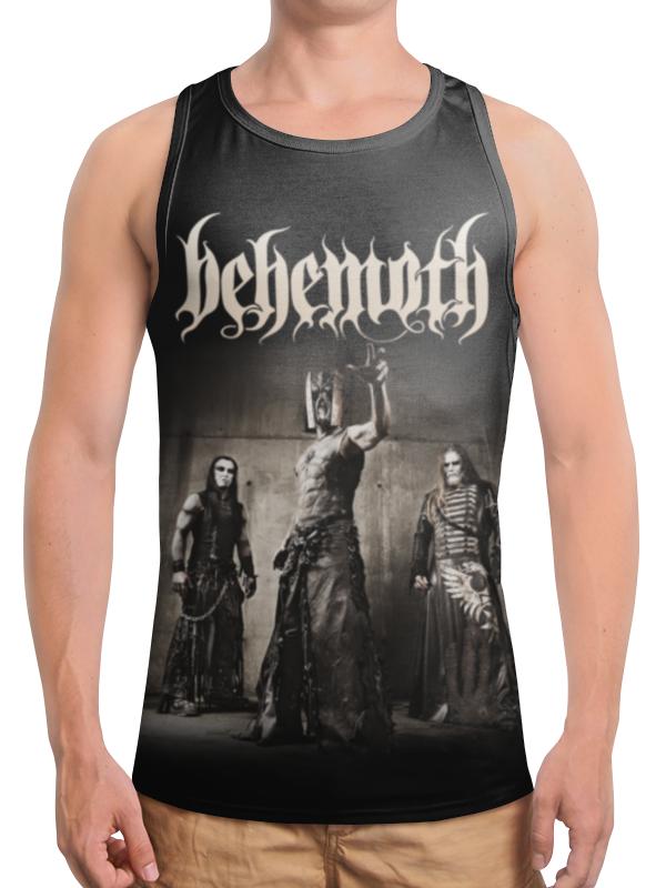 Борцовка с полной запечаткой Printio Behemoth behemoth villeurbanne