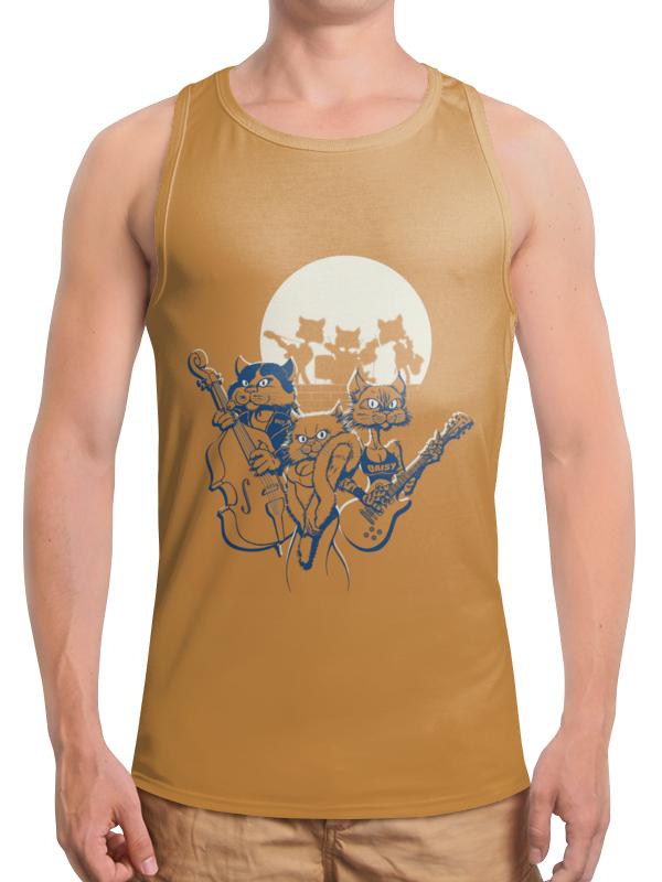 Борцовка с полной запечаткой Printio Кошачий концерт футболка с полной запечаткой женская printio кошачий концерт