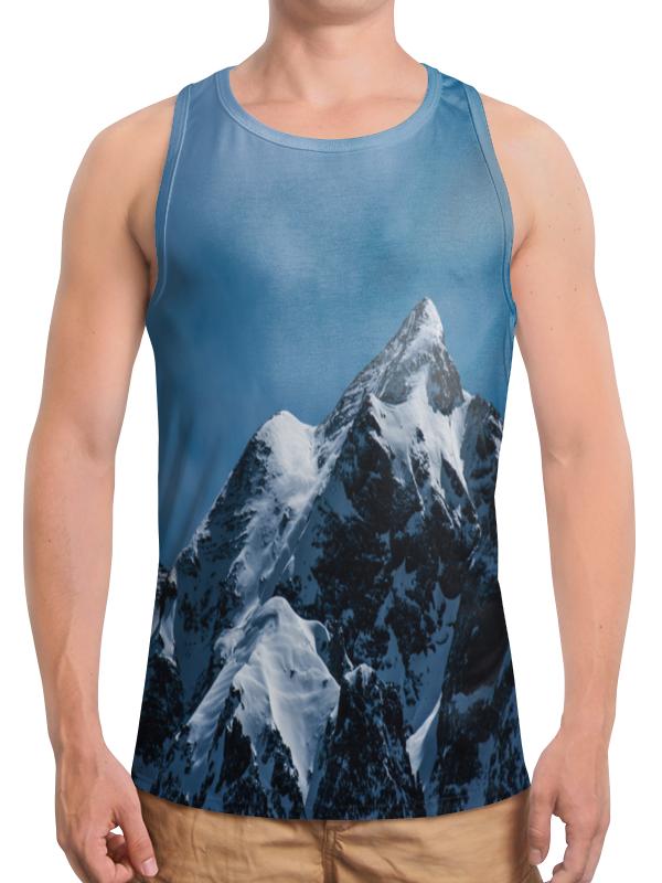 Борцовка с полной запечаткой Printio Снег в горах борцовка с полной запечаткой printio осень в горах