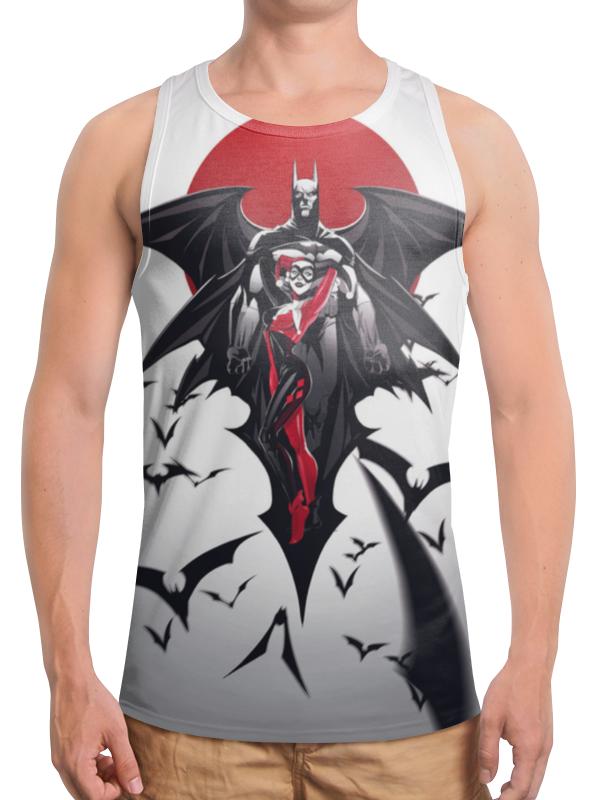 Борцовка с полной запечаткой Printio Бэтмен / batman