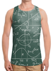 """Борцовка с полной запечаткой """"Математика"""" - символы, математика, формулы, графики, константы"""