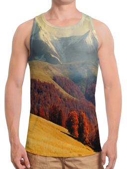 """Борцовка с полной запечаткой """"Альпы"""" - альпы, природа, горы, осень, пейзаж"""