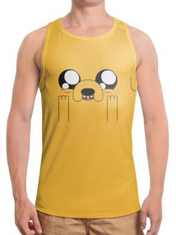 """Борцовка с полной запечаткой """"Время приключений / Adventure Time"""" - сериалы, рисунок, мультфильмы"""