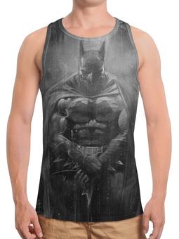 """Борцовка с полной запечаткой """"Бэтмен / Batman"""" - рисунок, комиксы, кино, бэтмен"""