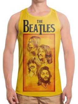 "Борцовка с полной запечаткой ""The Beatles"" - beatles, the beatles, битлз, рок музыка, рок группа"