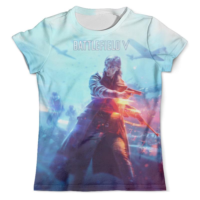 Футболка с полной запечаткой (мужская) Printio Battlefield v футболка с полной запечаткой для девочек printio battlefield 4