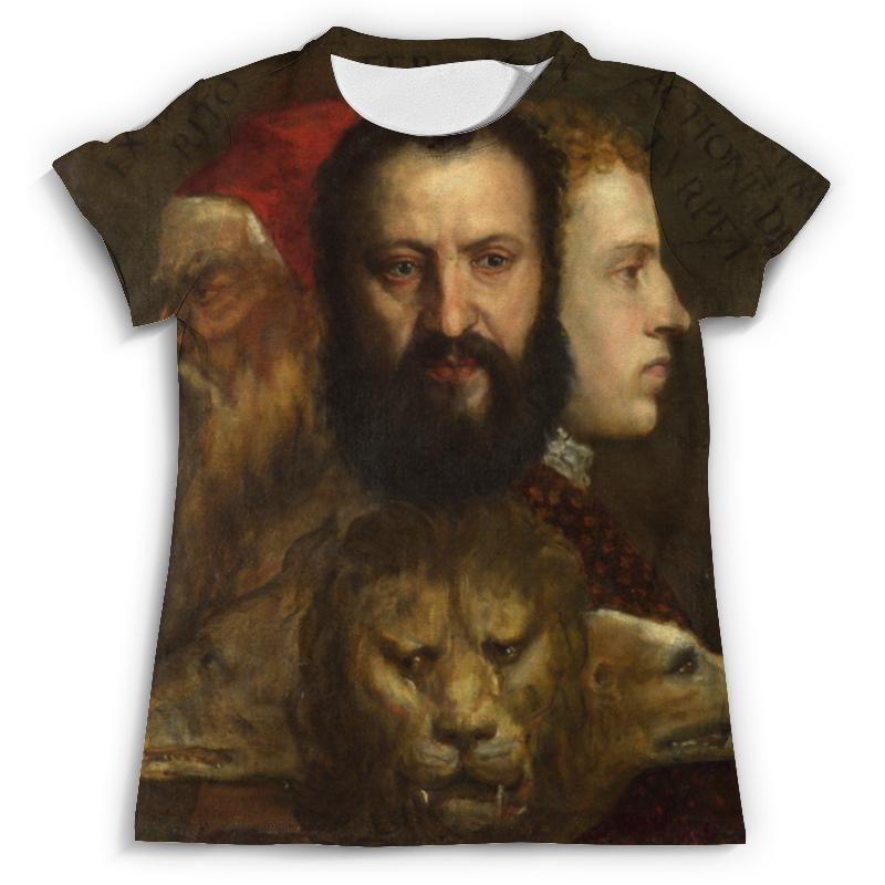 Футболка с полной запечаткой (мужская) Printio Titian allegorie der zeit / картины titian a fresh look at nature