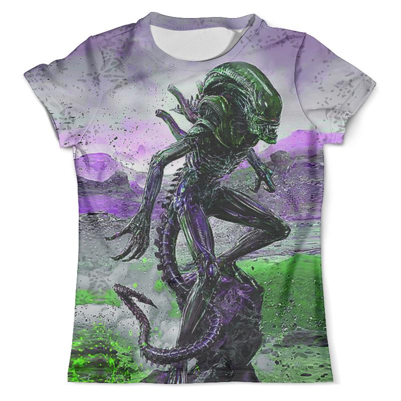 Футболка с полной запечаткой (мужская) Printio Alien design (color) футболка мужская ling feng color lf6651 lfcolor