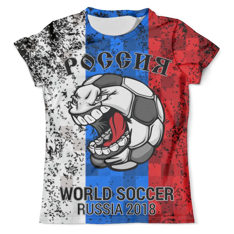 Фото Футболка с полной запечаткой (мужская) Printio Россия (футбол)