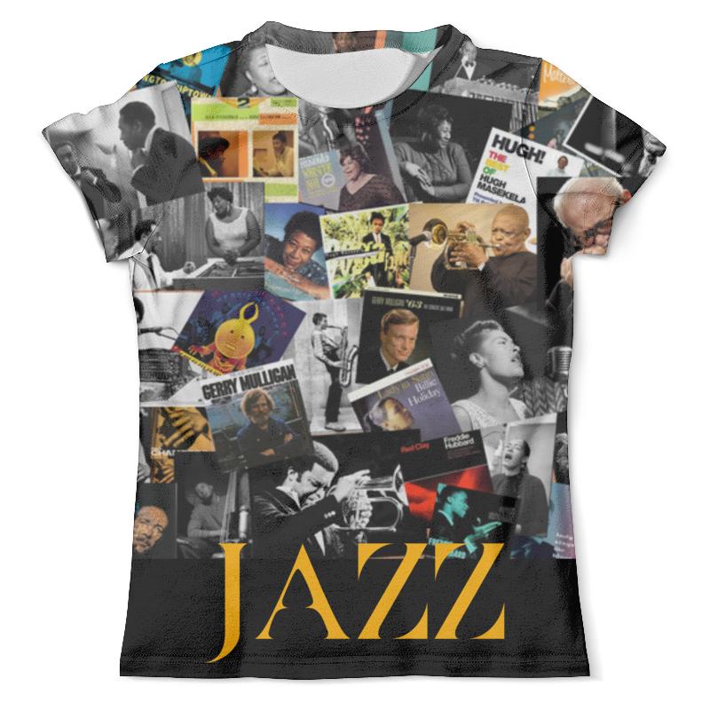 Футболка с полной запечаткой (мужская) Printio Jazz legends футболка с полной запечаткой мужская printio jazz trumpet saxophone