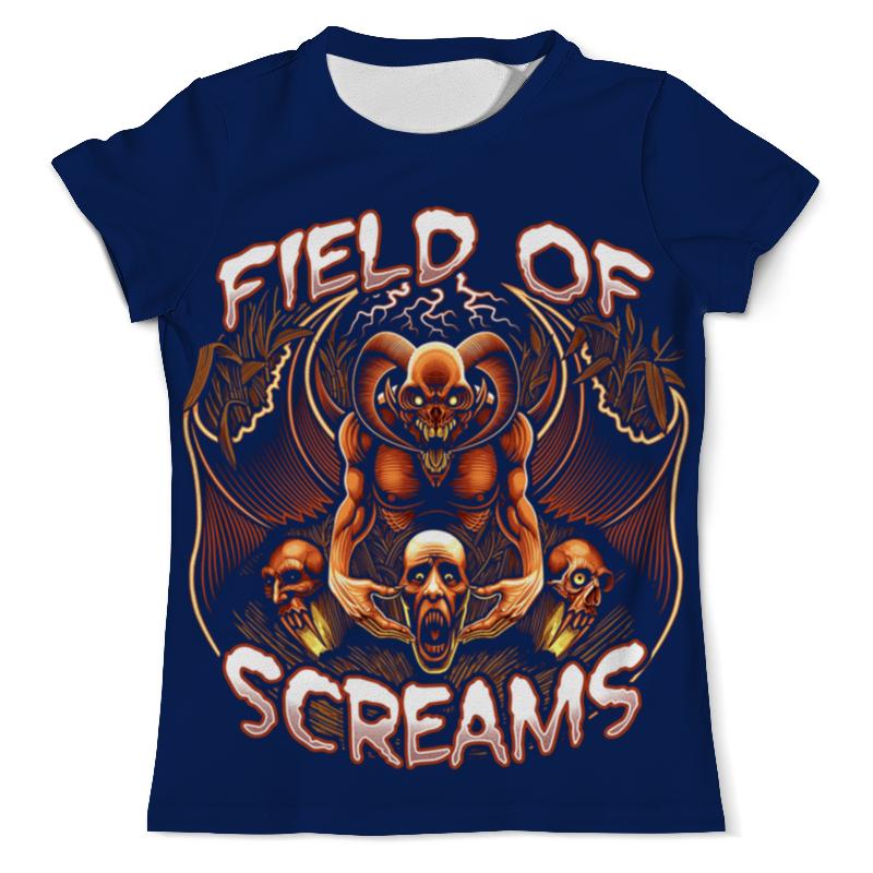 Фото - Футболка с полной запечаткой (мужская) Printio Field of screams футболка с полной запечаткой мужская printio field of screams