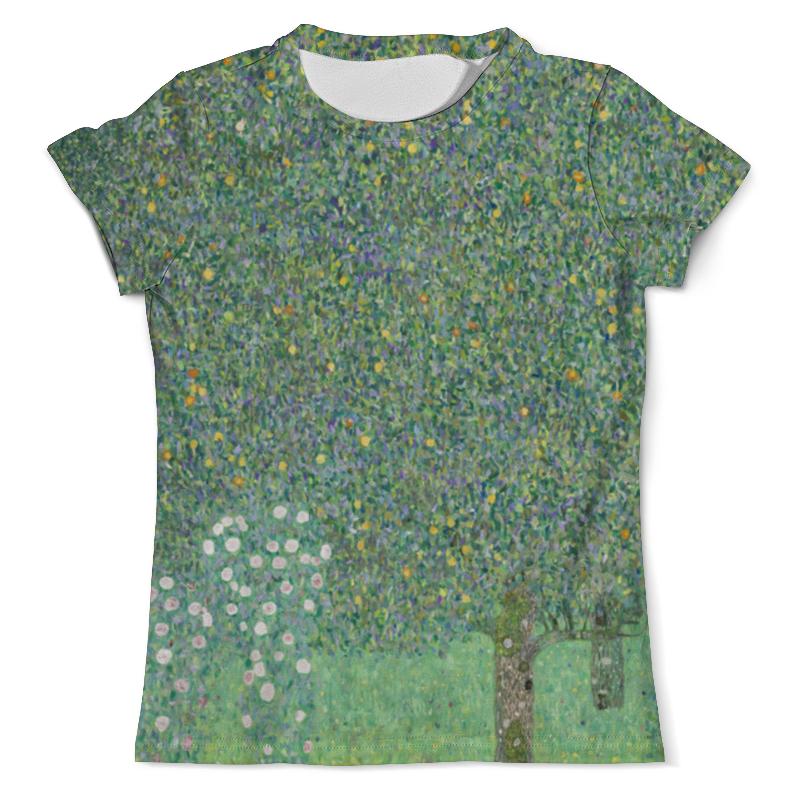 Printio Розы под деревьями (густав климт) футболка с полной запечаткой мужская printio большой тополь ii густав климт