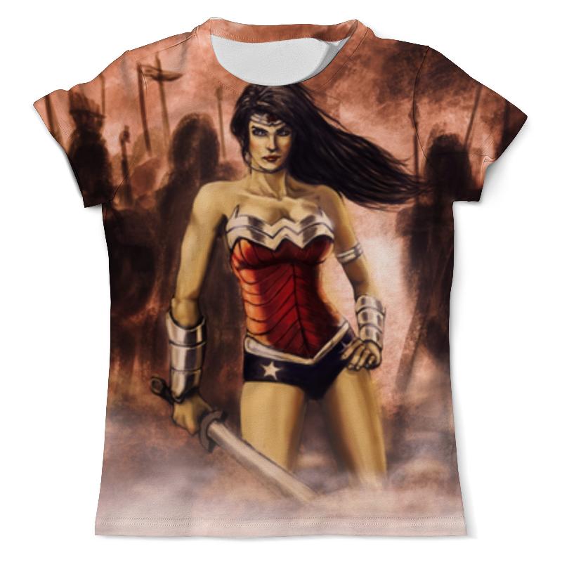 Футболка с полной запечаткой (мужская) Printio Чудо-женщина (wonder woman) футболка с полной запечаткой мужская printio чудо женщина