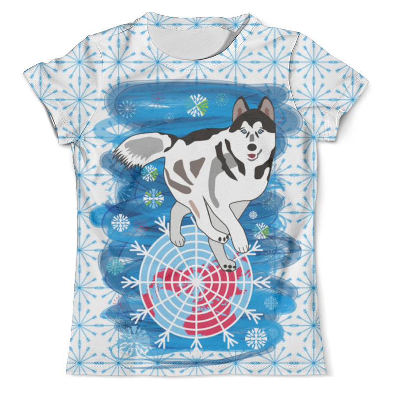 Футболка с полной запечаткой (мужская) Printio Бегущая по снегам футболка с полной запечаткой мужская printio и по